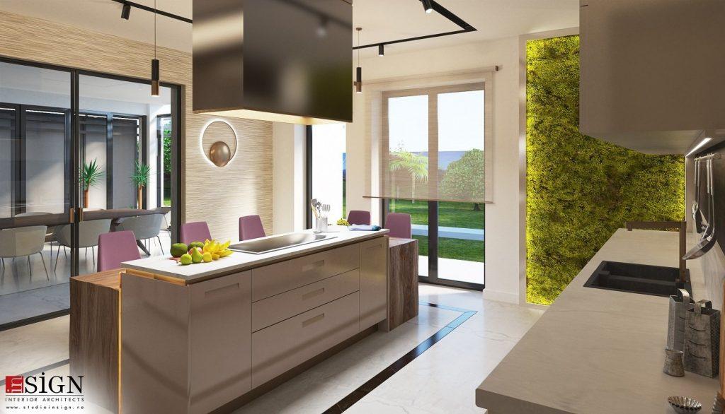 bucatarie in design modern