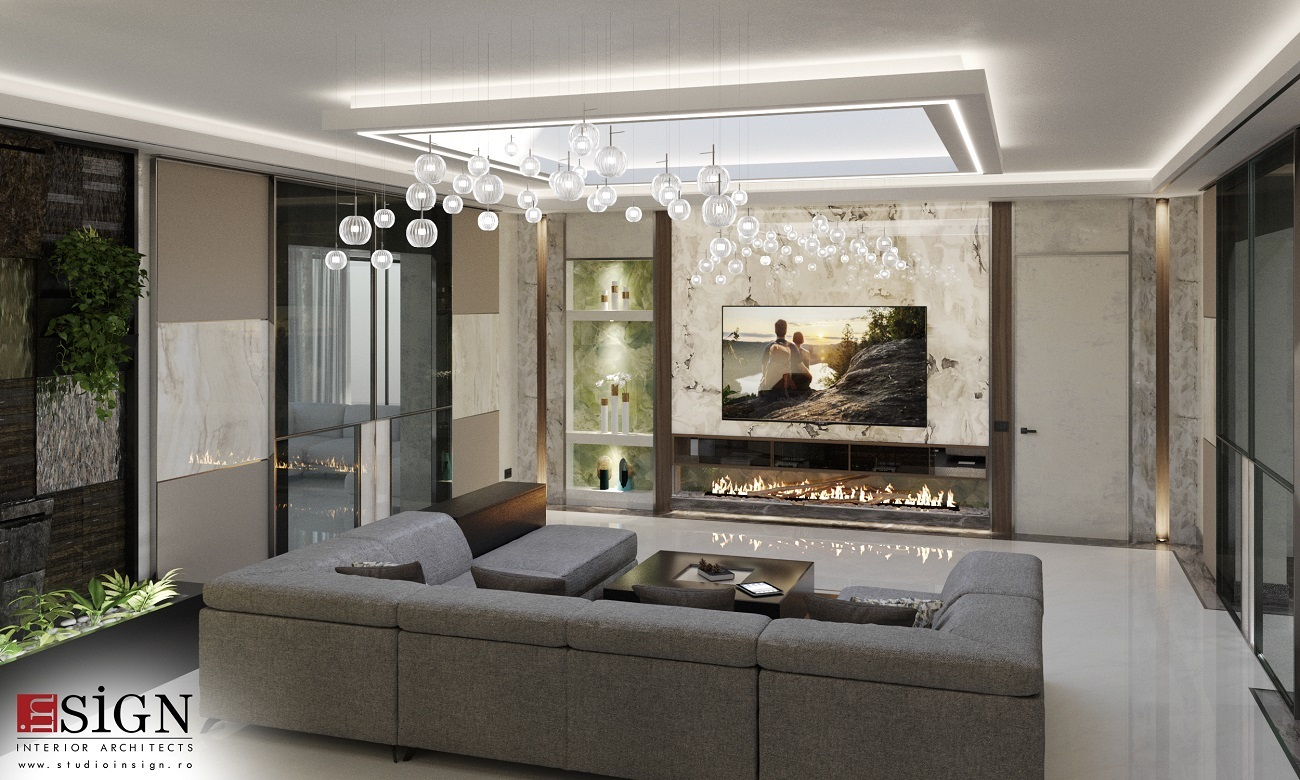 interior design in the living room